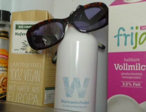 Wannseeschulen on tour – message from a bottle