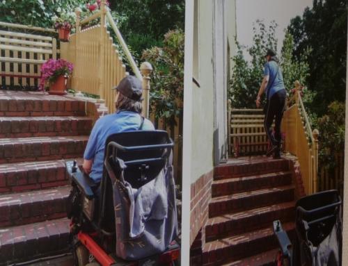Zurück ins Leben mit dem Elektro-Rollstuhl Ausstellung