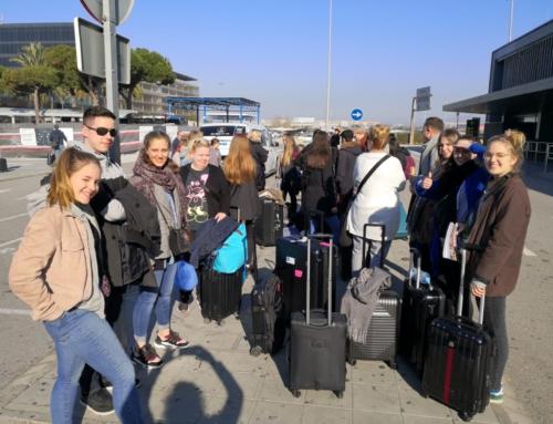 Kursfahrt nach Barcelona