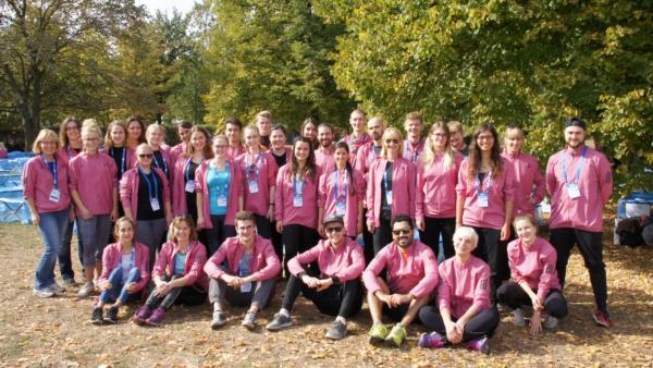 Gruppenbild Berlin Marathon 2018