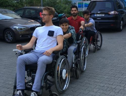 Wechsel der Perspektive – Rollstuhltag